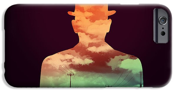 Hats iPhone Cases - Time stood still iPhone Case by Budi Satria Kwan