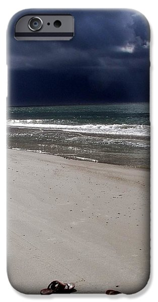 TIME TO GO iPhone Case by KAREN WILES
