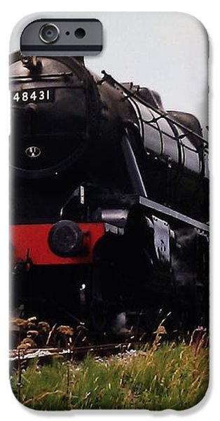 Time Travel by Steam iPhone Case by Martin Howard