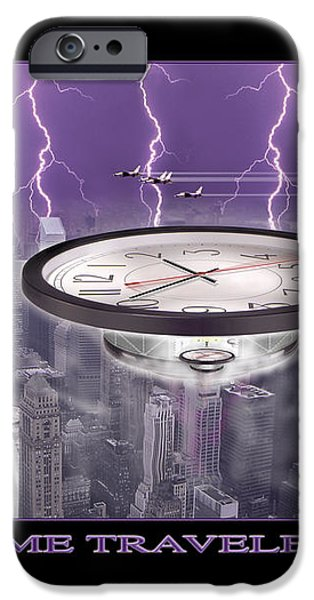 TIME TRAVELERS iPhone Case by Mike McGlothlen