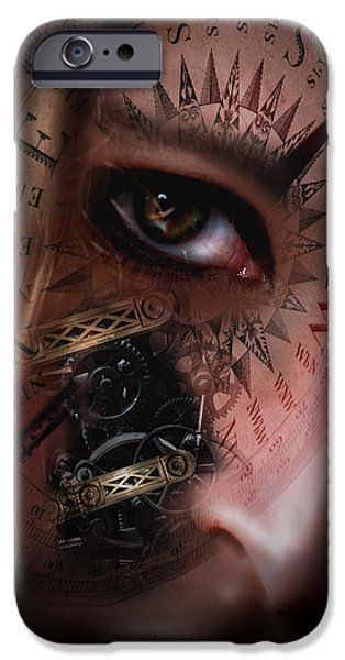 Recently Sold -  - Technical iPhone Cases - Time Travler  iPhone Case by Nathan Wright