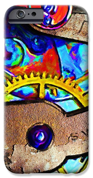 Time Waits For Nobody 20130605 square iPhone Case by Wingsdomain Art and Photography