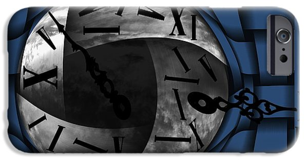 By Barbara St Jean iPhone Cases - Time Weaves iPhone Case by Barbara St Jean