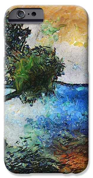 Time Well Spent - Medina Lake iPhone Case by Wendy J St Christopher