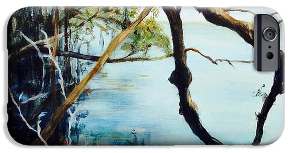 Recently Sold -  - Mangrove Forest iPhone Cases - Timeless Forest iPhone Case by Mary Lynne Powers