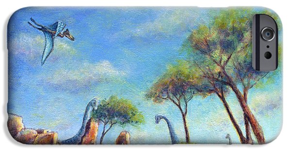 Virtual Paintings iPhone Cases - Timeless iPhone Case by Retta Stephenson