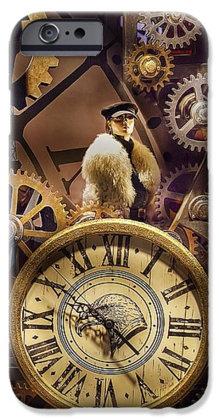 Watch Parts iPhone Cases - Timely Fashions iPhone Case by Chuck Staley
