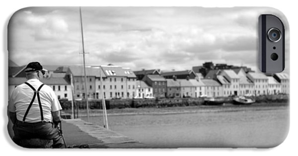 The White House Photographs iPhone Cases - Timeout in Galway iPhone Case by Patrick Dinneen