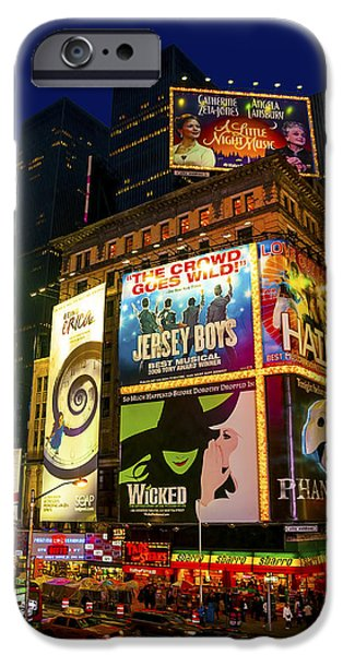 Times Square iPhone Case by Svetlana Sewell