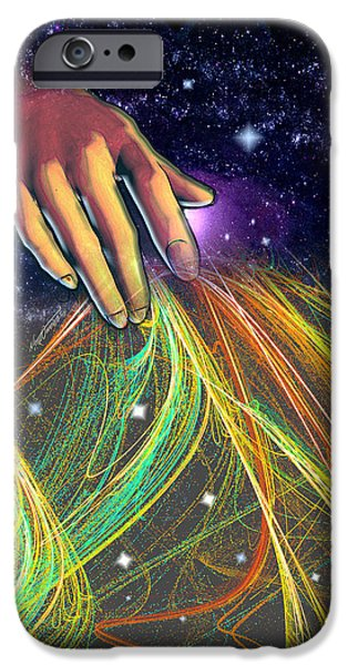 Times Tapestry iPhone Case by Nate Owens