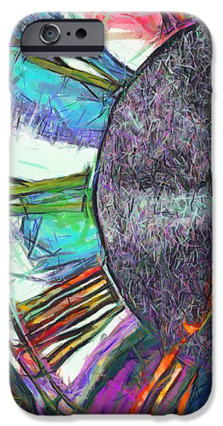 Business Digital Art iPhone Cases - Timing Is Everything iPhone Case by Wendy J St Christopher