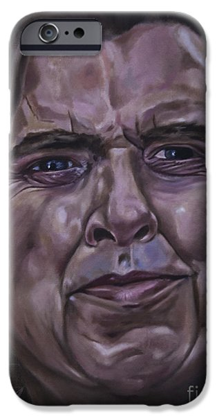 The Kings Speech iPhone Cases - Timothy Spall iPhone Case by James Lavott