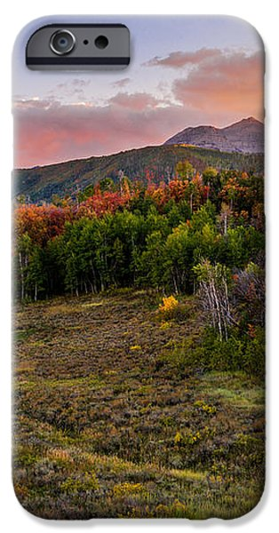 Timp Fall Glow iPhone Case by Chad Dutson