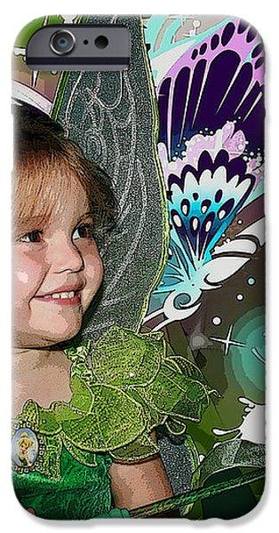 Tinkerbell iPhone Case by Ellen Henneke