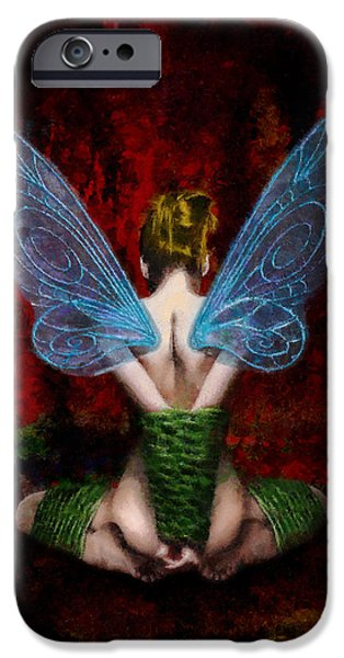 Tinker Bell iPhone Cases - Tinks Fetish iPhone Case by Christopher Lane