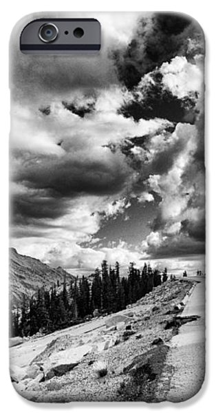 Tioga Pass iPhone Case by Cat Connor