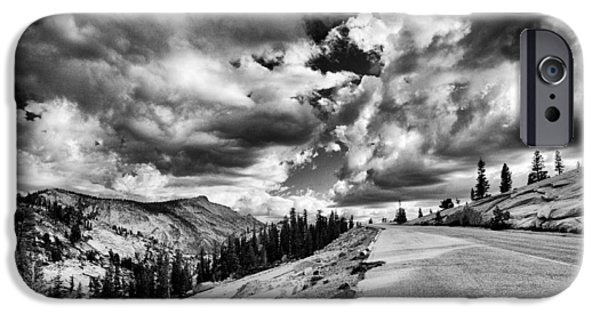 Road Travel iPhone Cases - Tioga Pass iPhone Case by Cat Connor