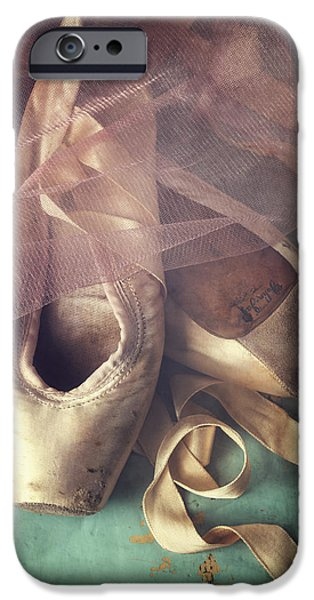 Theatrical iPhone Cases - Tiptoes iPhone Case by Amy Weiss