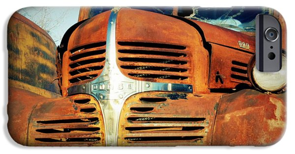 Rust iPhone Cases - Tired Truck iPhone Case by Samuel Pankey