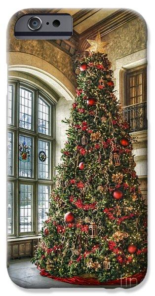 Holiday Season iPhone Cases - Tis The Season iPhone Case by Evelina Kremsdorf