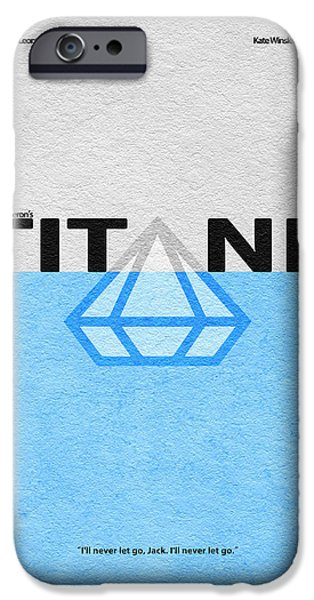 Kate iPhone Cases - Titanic iPhone Case by Ayse Deniz