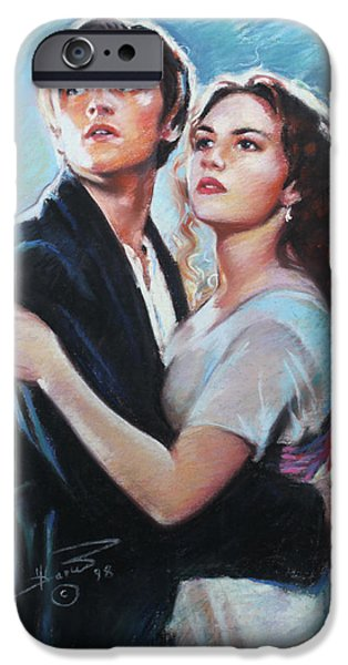 Epic iPhone Cases - Titanic Jack and Rose iPhone Case by Viola El