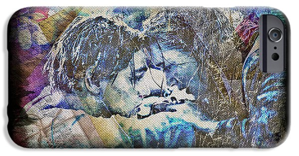 Recently Sold -  - Women Together iPhone Cases - Titanic - True Love iPhone Case by Absinthe Art By Michelle LeAnn Scott
