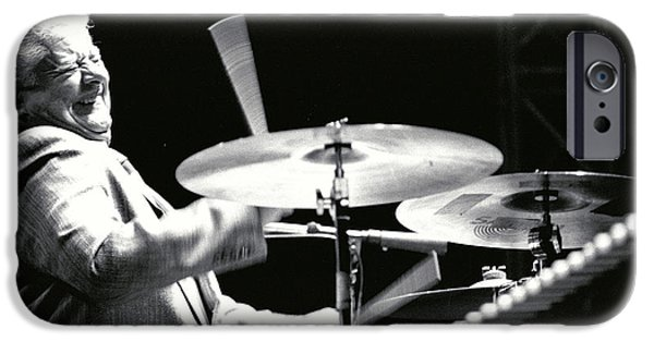 Gingrich Photography iPhone Cases - Tito Puente iPhone Case by Gary Gingrich Galleries