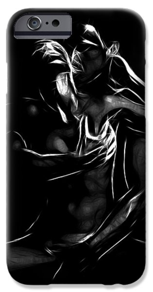 Expressionism Digital Art iPhone Cases - To be a woman iPhone Case by Stefan Kuhn