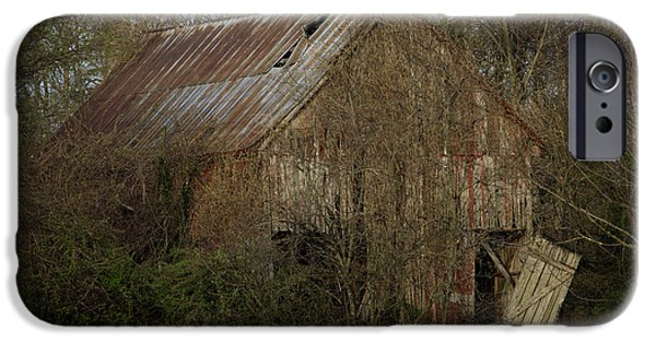 Maryland Barn Photographs iPhone Cases - To Be Versed in Country Things iPhone Case by Rebecca Sherman
