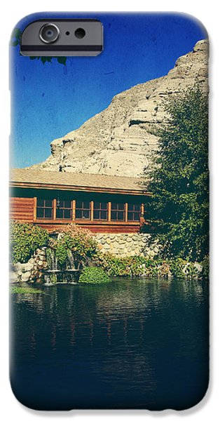 Cabin Window iPhone Cases - To Behold iPhone Case by Laurie Search