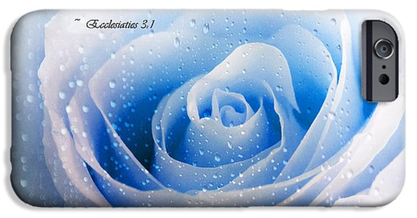 Floral Digital Art Digital Art iPhone Cases - To Every Thing There Is A Season iPhone Case by Jordan Blackstone