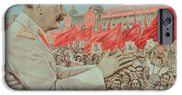 Applaud iPhone Cases - To Our Dear Stalin iPhone Case by Russian School