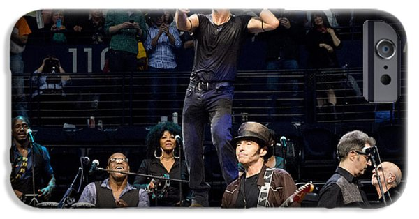 E Street Band iPhone Cases - To the 10th iPhone Case by Jeff Ross