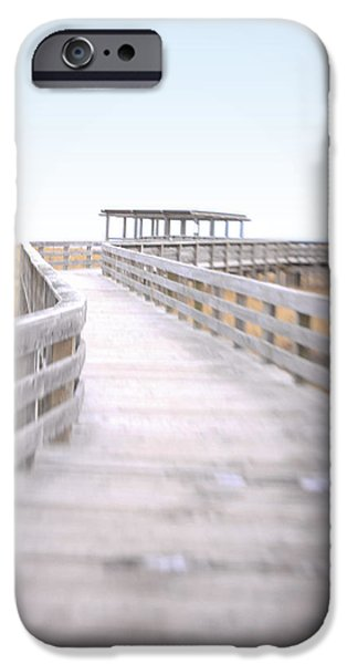 Pathway iPhone Cases - To the Beach iPhone Case by K Hines