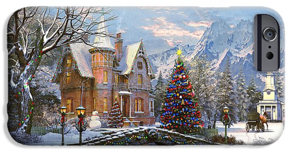 Seasonal iPhone Cases - To the Church Best iPhone Case by Dominic Davison
