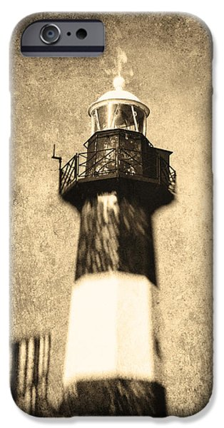 Toning iPhone Cases - The Lighthouse iPhone Case by Wim Lanclus