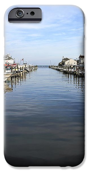To the Sea at LBI iPhone Case by John Rizzuto