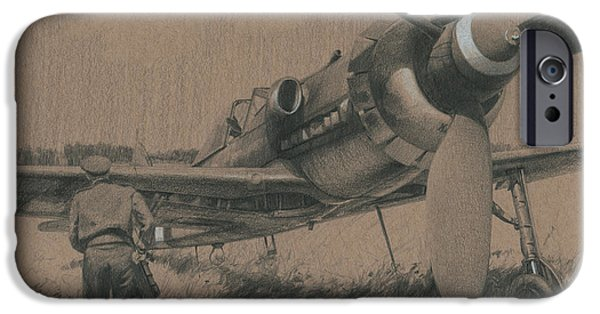 P-51 Mustang iPhone Cases - To the Victors iPhone Case by Wade Meyers