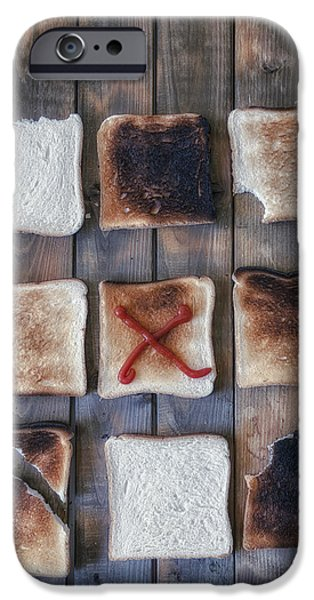 Biting iPhone Cases - Toast iPhone Case by Joana Kruse