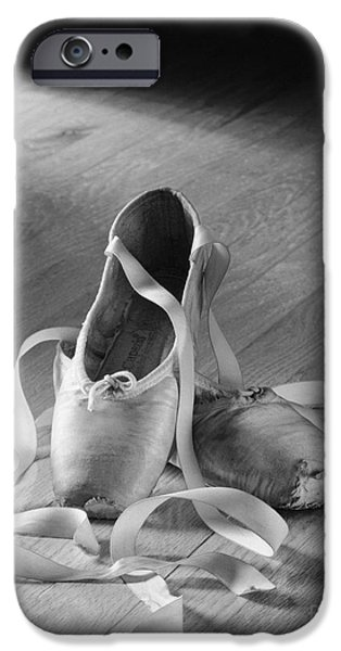 Ballet Dancers Photographs iPhone Cases - Toe shoes iPhone Case by Tony Cordoza