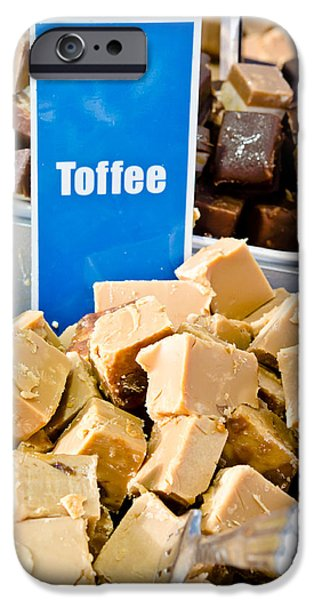 Beige iPhone Cases - Toffee fudge iPhone Case by Tom Gowanlock