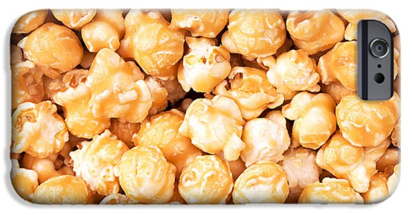 Unhealthy iPhone Cases - Toffee popcorn iPhone Case by Jane Rix