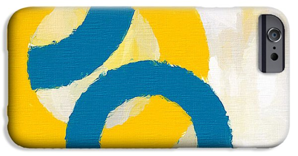 Brilliant Paintings iPhone Cases - Together In Harmony iPhone Case by Lourry Legarde