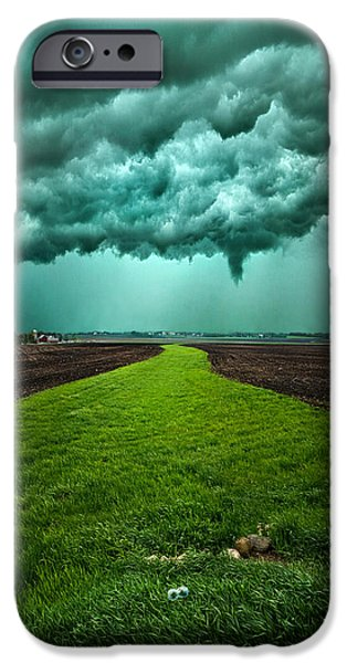 Summer Storm iPhone Cases - Together We Can Make It iPhone Case by Phil Koch