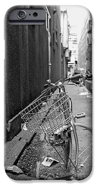Vandalize Photographs iPhone Cases - Tokyo Unicycle iPhone Case by Dean Harte