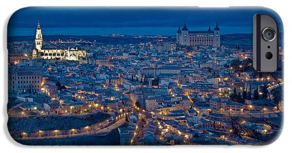 World Destination iPhone Cases - Toledo, Spain iPhone Case by Spencer Grant