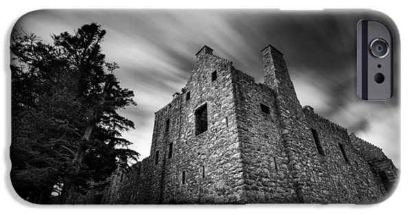 Dave iPhone Cases - Tolquhon Castle iPhone Case by Dave Bowman