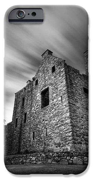 Tolquhon Castle iPhone Case by Dave Bowman