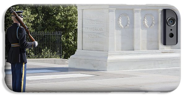 D.c. iPhone Cases - Tomb Of The Unknown Soldier iPhone Case by Susan Candelario